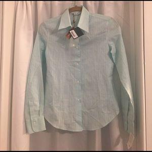 Loro Piana Tops - Lori Piana Enrica Shirt Cotton Linen Shirt NWT