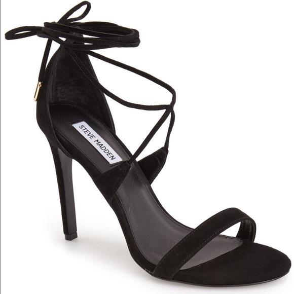 ab618dfa2d6 Steve Madden Presidnt leg wrap heels