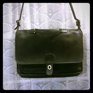 Vintage Coach work or laptop bag / briefcase