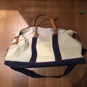 J. McLaughlin Handbags - J. McLaughlin Sailcloth Duffel Bag