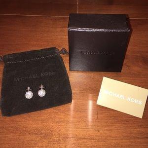 Authentic Michael Kors Stud Earrings