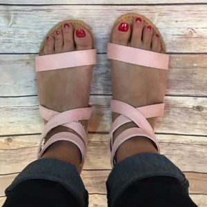 Bchic Shoes - 🌸SPRING SALE🌸Blush Strappy Sandals