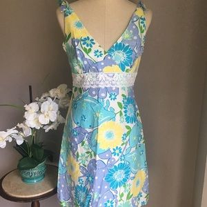 Lilly Pulitzer Linen Sundress size 6