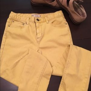 Free People Pants - Free People Yellow Jeans (27)