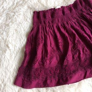 Max Studio Dresses & Skirts - MAX STUDIO eggplant purple stretchy skirt