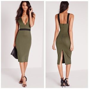 Missguided Dresses & Skirts - NWT Missguided Buckle Detail Midi Dress