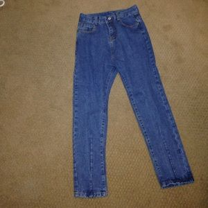 Straight blue jeans from romwe