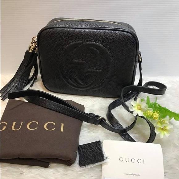 909f5cd7a27 Gucci Handbags - Gucci Soho Disco Bag 🖤