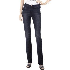 NWT Earnest Sewn Black Coated Zazo Hi-Rise Jeans