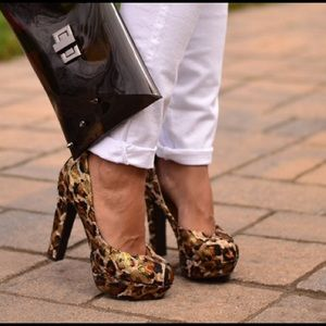 Animal Printed Pumps
