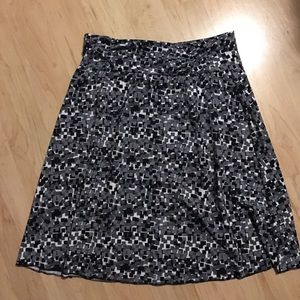 Lola Getts Active Dresses & Skirts - Black, white & gray spandex skirt