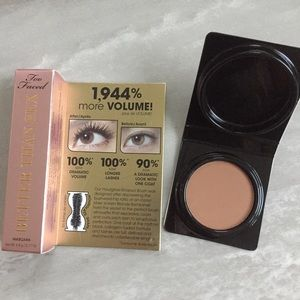 Too Faced Other - NEW Too Faced Bundle mascara and bronzer