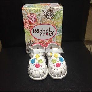 Rachel Other - Rachel toddler flower shoes