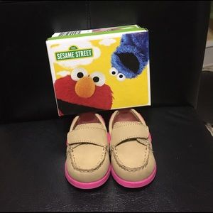 Sesame Street Other - Sesame Street Abby Boat Shoes