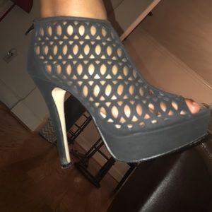 Anne Michelle Shoes - Black bootie
