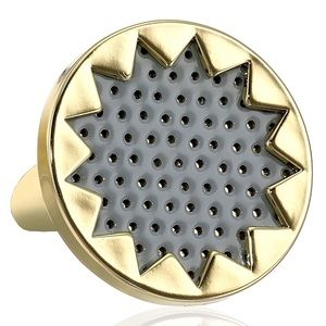 House of Harlow 1960 Jewelry - House of Harlow 1960 Grey leather Sunburst Ring