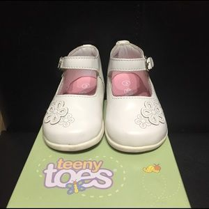 Teeny Toes Other - Teeny Toes Ankle Strap Shoes