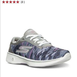 Skechers Shoes - Sketcher Women's Gowalk 4-3D Printed Sneakers