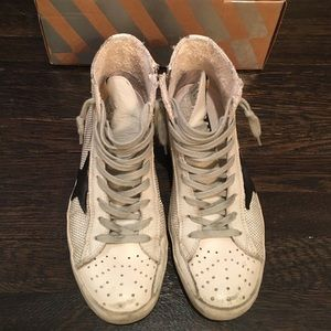 Golden Goose Shoes - GOLDEN GOOSE DELUXE BRAND Francy HT With Box