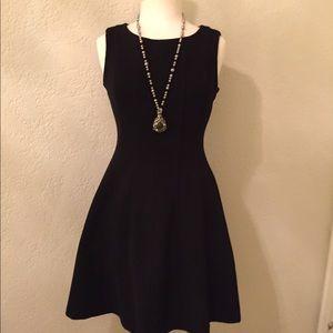 just Taylor Dresses & Skirts - Just Taylor black sleeveless fit & flare dress