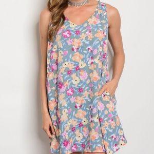 Nordstrom Dresses & Skirts - New floral open back dress