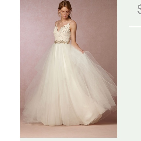 63 off anthropologie dresses skirts bhldn hayden wedding bhldn hayden wedding dress gown size 14 junglespirit Choice Image