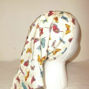 Accessories - Dragonfly & Butterfly Triangle Head Wrap Scarf