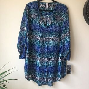 Pure Energy Tops - Pure energy NWT long sleeves blouse
