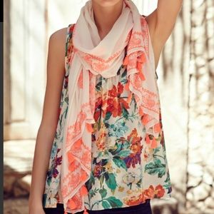 Anthropologie Tops - Anthropologie floral top