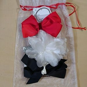 Little Me Other - BNWT! ASSORTED 3 PC HEADBAND set
