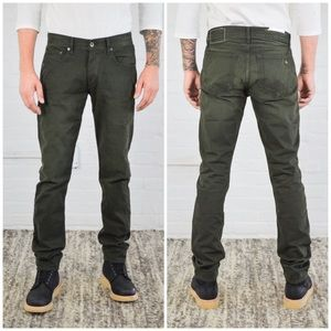 rag & bone Other - rag & bone Fit 2 Slim Distressed Olive Twill Jeans