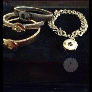 Jewelry - Snap Charm Bracelets