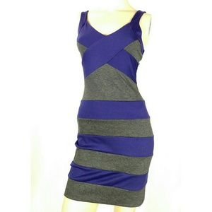 Body Central Dresses & Skirts - BODY CENTRAL sexy striped club wear dress. Small