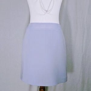 HUGO Dresses & Skirts - Hugo Buscati Back Zip Silk Skirt
