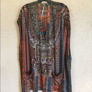 Camilla Dresses & Skirts - Camilla The Indigo Trail Oversized VNeck Tee Dress