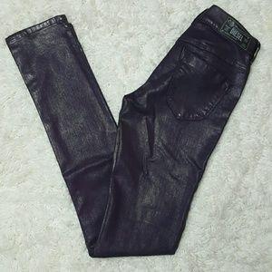 Diesel Denim - Diesel Livier Jeans Metallic Coated Purple 25