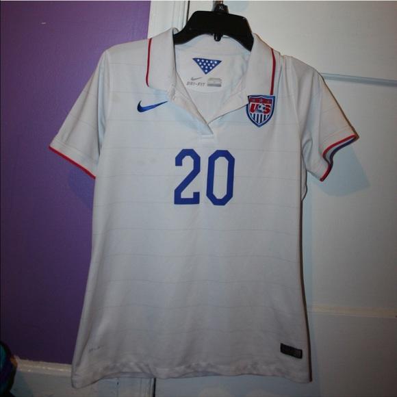 size 40 ed98b 77a16 USWNT Abby Wambach jersey