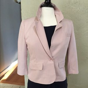 Blush light weight blazer jacket size M