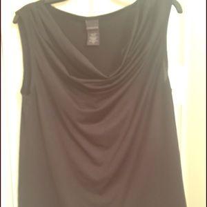 Covington Tops - ‼️SALE!💥Covington Black Cowl Neck blouse top‼️💥