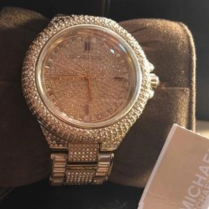 Michael Kors Accessories - ⌚️💎Michael Kors💎⌚️Camille Gold Tone Watch