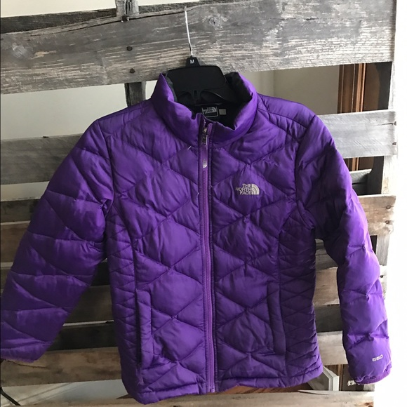 wide selection of colours and designs innovative design professional design Final The North face girls purple puffer jacket /