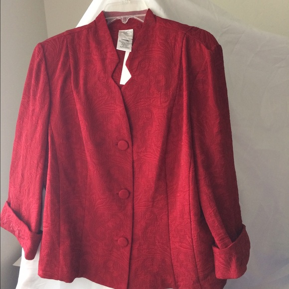 Emma James Jackets & Blazers - ⬇️$45 NWT Emma James Red Jacket