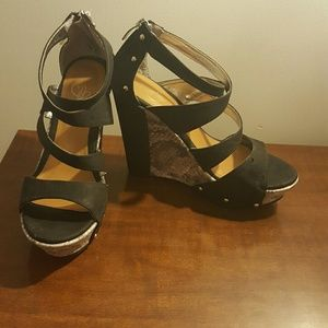 Baby Phat Shoes - Baby Phat cassia wedge sandals size 8.5