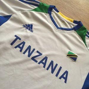 12a0575e4 Adidas Shirts - Adidas Tanzania Soccer Jersey