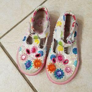 Lelli Kelly Kids Other - Lelli kelly bejeweled girl shoes