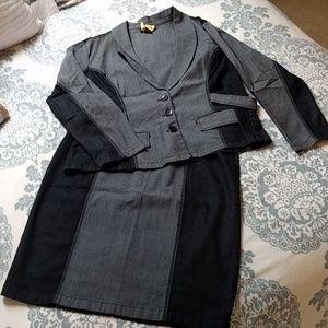 Ashley Stewart Jackets & Blazers - Freshly dry-cleaned skirt suit