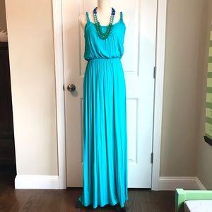 LOFT   Blouson Maxi Dress