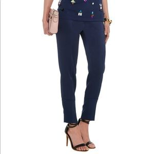 Sonia Rykiel Pants - Sonia by Sonia Rykiel navy silk trousers
