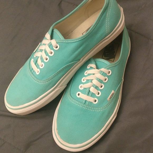 Vans Shoes | Teal Blue Vans Authentic