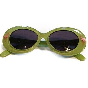 Gymboree Other - 🕶Gymboree Green Flamingo Sunglasses 2-4 Yrs🕶